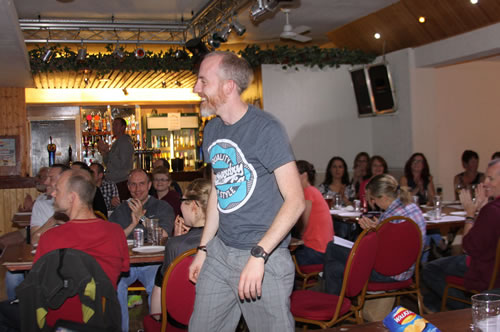 Every year we have an awards night. In 2014 Pete Moor was a winner